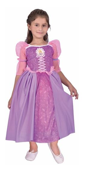 Disfraz Princesa Rapunzel Original Con Licencia Newtoy