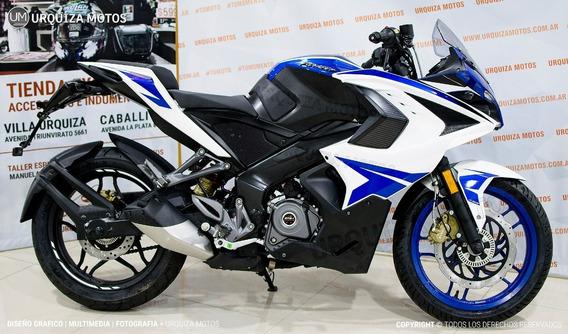 Moto Pista Bajaj Rs 200 Abs 12 Ctas Sin Interes 0km 2020 Um