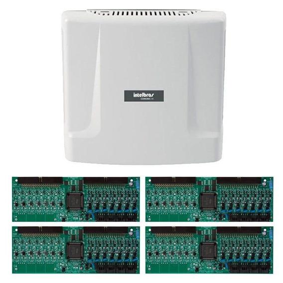 Kit Central Comunicação Intelbras Comunic 48 Placa 32 Ram Tf