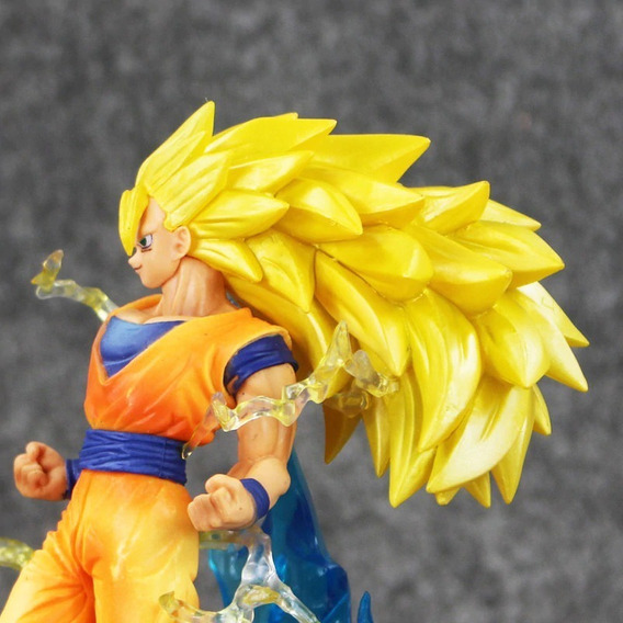 Goku Super Sayajin 3 Dragon Ball Z Pronta Entrega