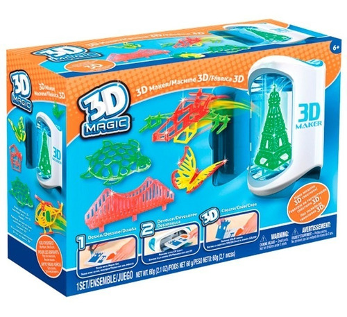3d Magic Fabrica De Figuras 64015 Full