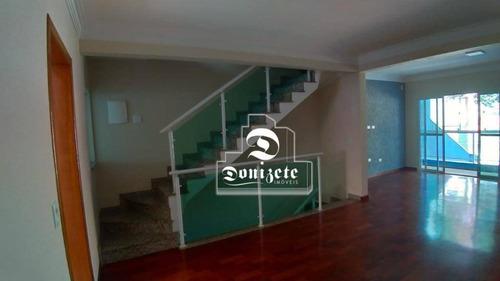 Sobrado Com 3 Dormitórios À Venda, 184 M² Por R$ 690.000,00 - Vila Alzira - Santo André/sp - So3738