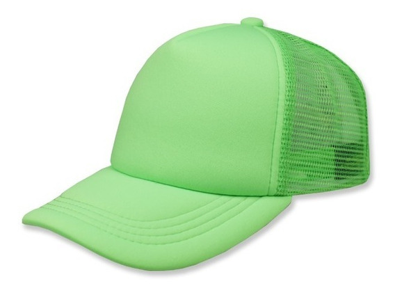 Gorra Sc Trucker Esponja Unitalla Verde/verde