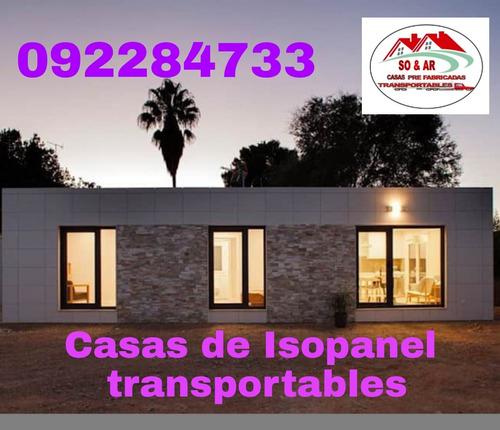 Casas De Isopanel Transportables A Todo El País