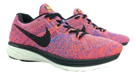 Tênis Nike Lunar 3 Flyknit Running Corrida Original