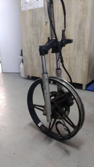 Frente A Disco Completa Para Motonetas E Triciclos