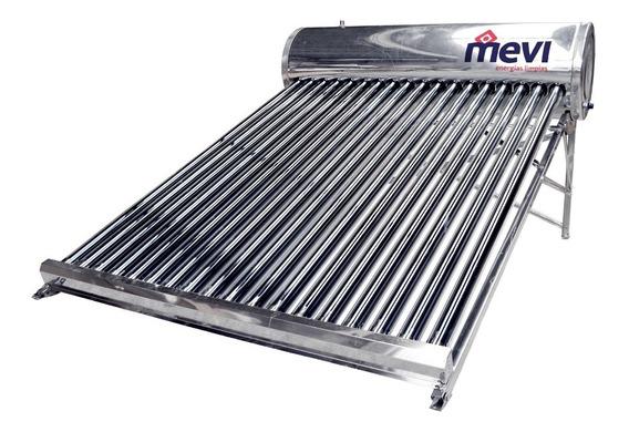 Calentador Solar Para 5 Personas De 18 Tubos, 218 Litros