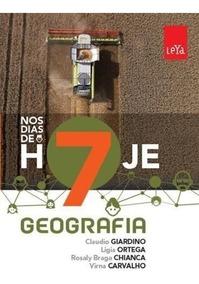 Nos Dias De Hoje - Geografia - 7º Ano - Ensino Fundamental I