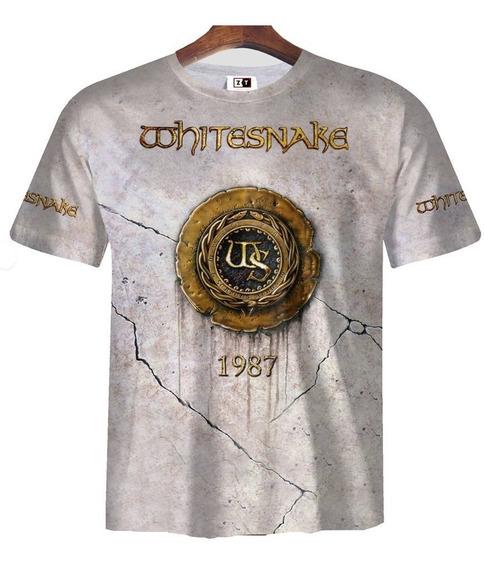 Remera Zt-0142 - Whitesnake 1987