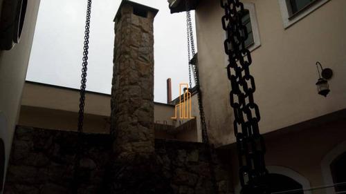 Sobrado Com 4 Dormitórios À Venda, 125 M² Por R$ 564.000 - Jardim Santo André - Santo André/sp - So0088