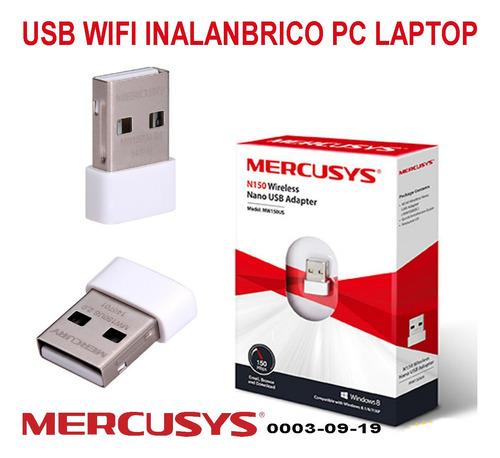 Usb Para Wifi Inalambrico Para Usar En Laptop Pc