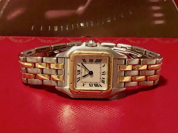 Cartier Panthere Lady Aço E Ouro , Promoção , Na Caixa!
