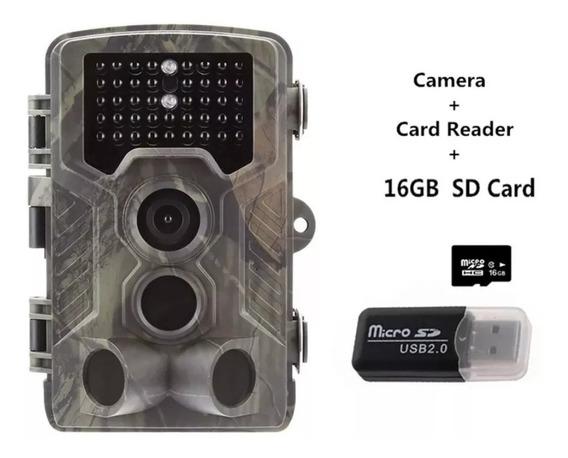 Armadilha Câmera Trilha Com Visor Lcd - Hc-800a No Brasil