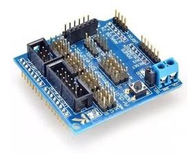 Shield Sensor Uno V5.0 Placa Expansão V5 Arduino Servo Lcd