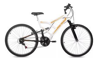 Bicicleta Aro 26 Fullsion Suspensão 18v Mormaii Bike 18 Marchas Aro 26 Envio Imediato Cod.84080