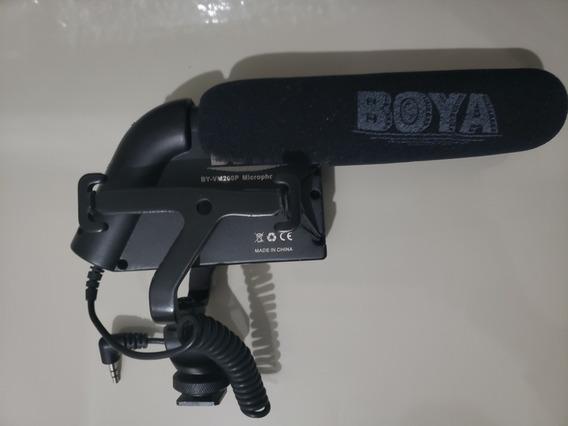 Microfone Boya By-vm200p