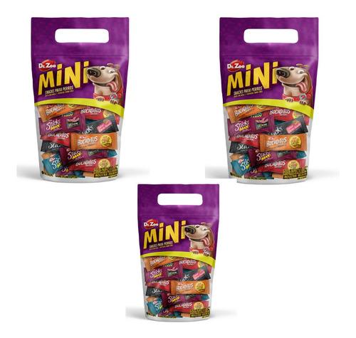 Promo Combo X 3 Snacks Surtidos Perro Dr.zoo Mini Bocaditos