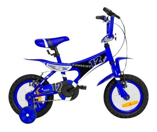 Bicicleta Forest Rodado 12 Niños Nenes Rueditas Chico Oferta