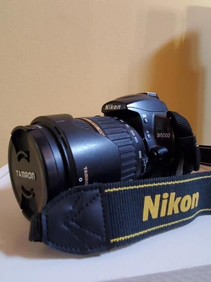Nikon D5000 + Tamron 18-200