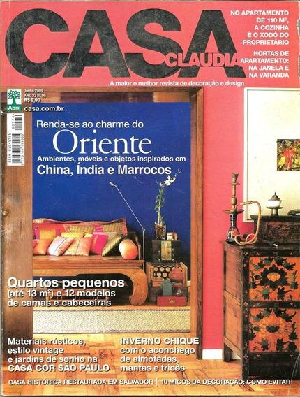 Cl Casa Cláudia 574 * Jun/09 * Renda-se Ao Charme Do Oriente
