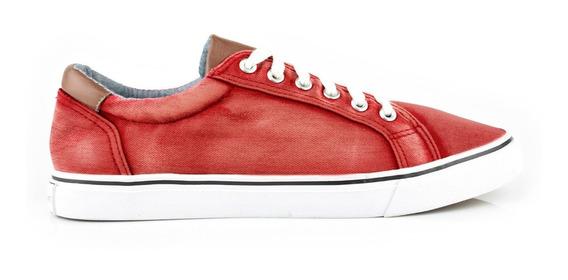 Tenis Urbanos Para Hombre Lob Footwear 902-9520 Rojo Nuevo Oi19