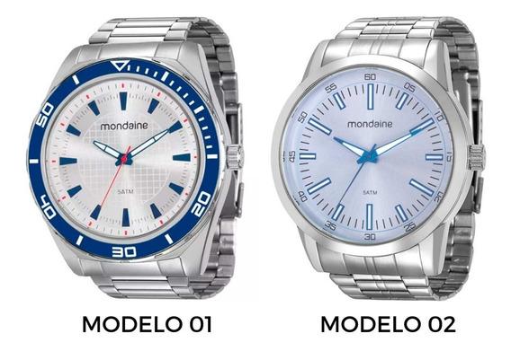 Kit 2 Relógios Mondaine Masculino 53521g0mvne1 / 94983g0mvne