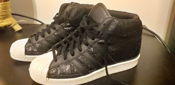 Botitas Superstar Up W adidas Talle 6.5 - Impeclables!!