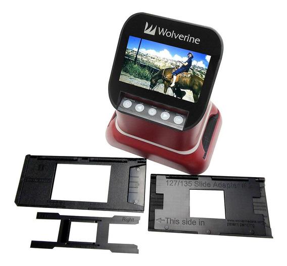 Escáner De Diapositivas Y Película Digital F2d Saturn Convie