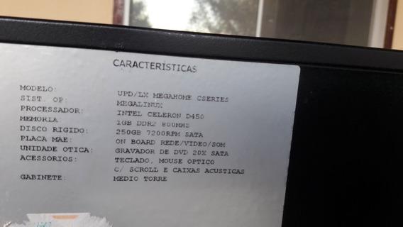Computador, Cpu, Monitor E Teclado