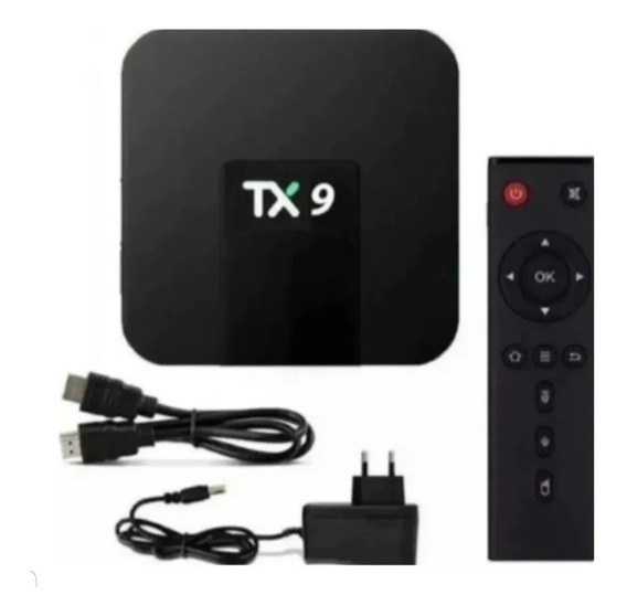 Tx9 2g 16gb 4k Cpu 4 Core Tv Box Original