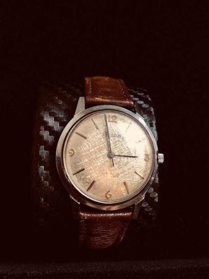 Estupendo Relógio Crown Dial Meteorite Automatico Tipo Omega