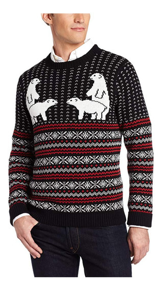 Suéter Feo Navidad Hombre Ugly Sweater Oso Alex Stevens G