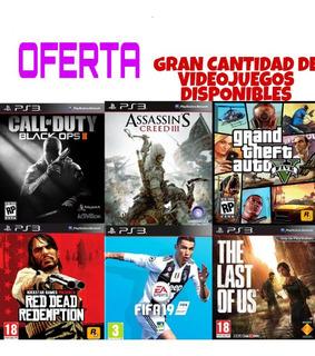 Pack 10 Juegos Ps3 Oferta