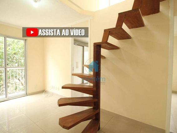 Ad0008- Apartamento Duplex Com 2 Dormitórios Para Alugar, 87 M² Por R$ 934/mês - Santa Maria - Osasco/sp - Ad0008