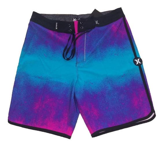Hurley Phantom Boardshort Short Traje De Baño Bañador Hombre Pastel