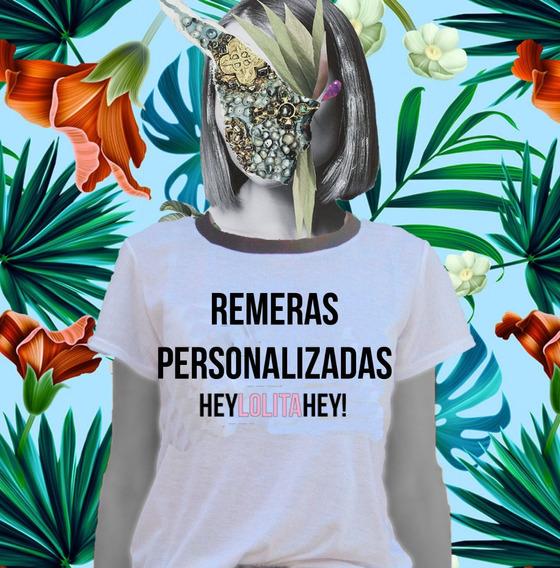 Remera Personalizada Talles Del Xs Al 7xl