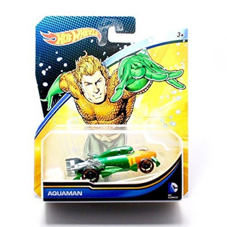 Hot Wheels, 2015 Coche De Personajes De Dc Comics, Aquaman,
