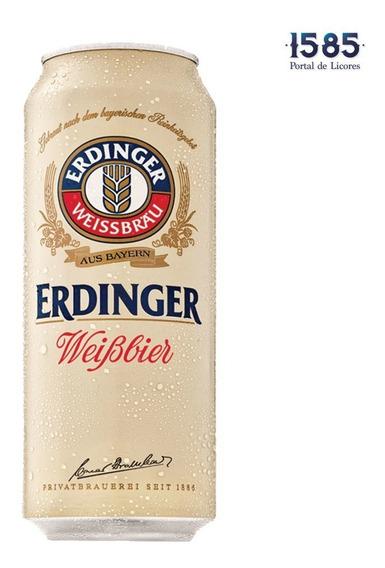 Cerveza Erdinger Weissbier Lata 500 Ml X - mL a $12