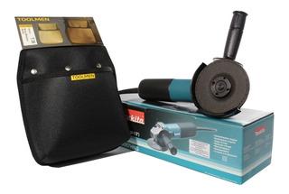 Amoladora Angular Makita 115mm 840w + Cartuchera Toolmen T26