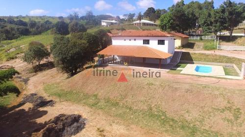 Imagem 1 de 15 de Chácara Para Venda Em Itatiaiuçu, 3 Dormitórios, 2 Suítes, 5 Banheiros, 5 Vagas - 70449_2-1172869