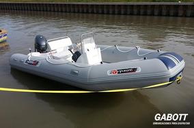 Semirrigidos Pampa 490 Con Motor Yamaha 40 Hp Full Gabott