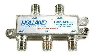 Derivador Splitter Digital Holland 1ghz Ghs-4fcli Tv Led Tda