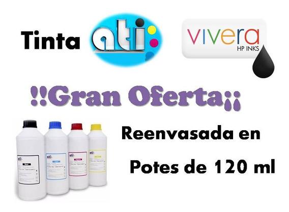 Gran Oferta En Tinta Original Ati Vivera Hp 120 Ml