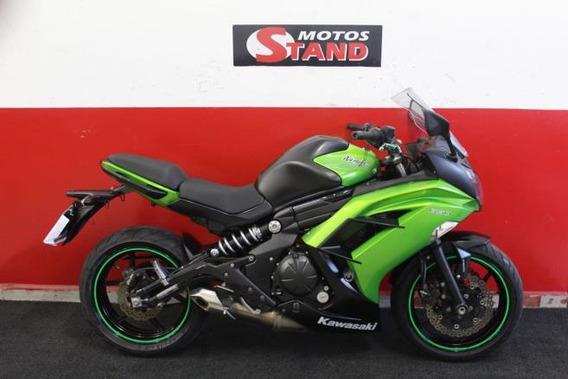 Kawasaki Ninja 650r 650 R Abs 2014 Verde