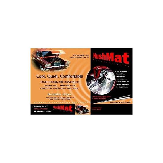 Kit De Suelo Hushmat 10400 Ultra Black Foil Con Almohadilla