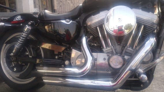Hd Sportster Low 883 - 2012 Escapes Vance, Mandos Adelante