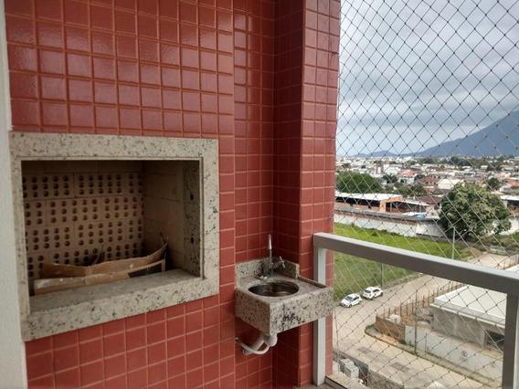 Apartamento Com 3 Dormitórios À Venda, 71 M² Por R$ 280.000 - Pagani - Palhoça/sc - Ap6220