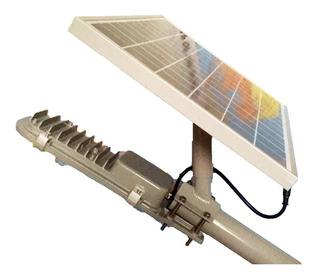 Lamparas Solar Led 12w Alumbrado Luminaria Panel Recargable