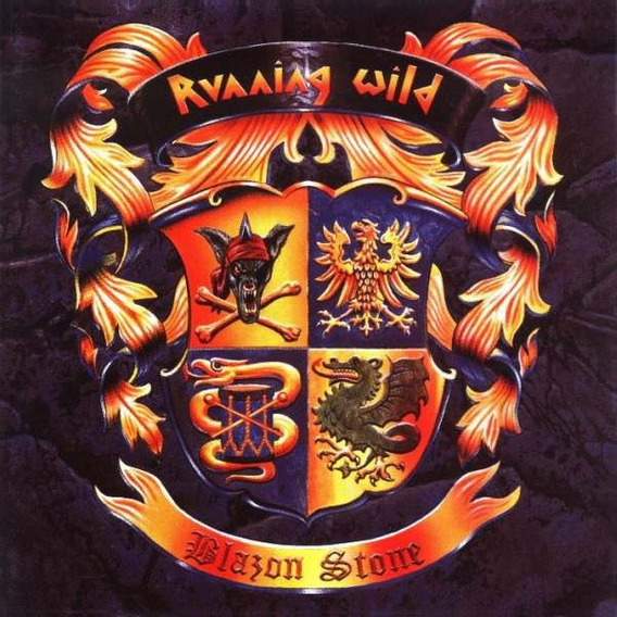 Running Wild Blazon Stone Cd
