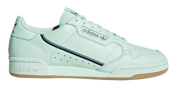 Zapatillas adidas Continental 80 Verdeclaro Hombre Originals